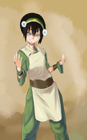 Toph Beifong by Chrono-King