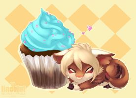 forever cupcake by Lindblut