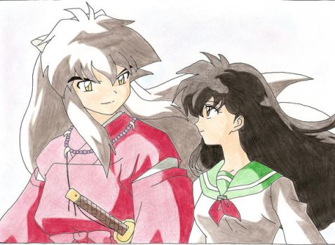 Inuyasha x Kagome by chicca88