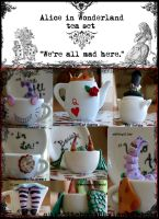 Wonderland Tea Set by quidditchmom