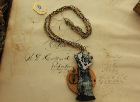 Clockhead Necklace by asunder