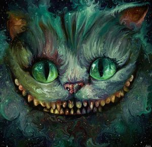 We're All Mad Here - The Cheshire Cat by NickyBarkla
