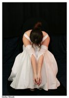 Bride: Sadly Waiting by Della-Stock