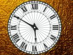 Antique Clock HD for xwidget by Jimking