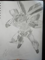 TFP Bumblebee Sketch by Baconette