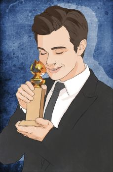 And it goes to... Chris Colfer by yu-oka