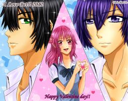 Happy Valentine day _2012 by Yuri-chan24