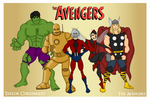 The Original Avengers by Femmes-Fatales