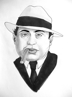 Al Capone by Zaphy1415926