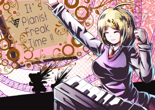 Persona 5 x NDRV3 Kaede Finishing Touch by shirodebby