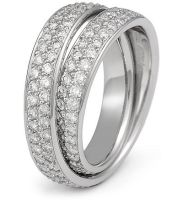 Continuum Pave Diamond Band II by DianaVincent