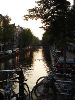 Amsterdam sunset by MoonChildMaddi