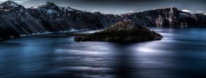Spring at Crater Lake by sellsworth