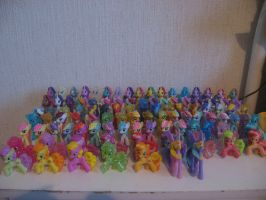 My little pony FiM blind bag collection by Twilightberry
