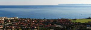 Palos Verdes and Catalina Island by eRality