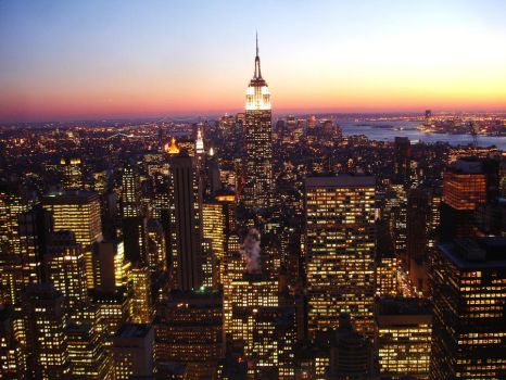 Top of the rock by luigiriva