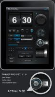 Tablet Phone User Interface V1 by diegomonzon