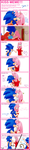 kiss meme SonAmy_Sonic by LaDenny