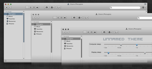 Unnamed mac theme by IanWoods