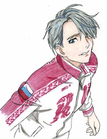 Yuri on Ice: Viktor Nikiforov by aa5tidus