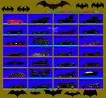 Batmobile's Evolution by Alexbadass