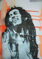 Bob Marley by LostProperty