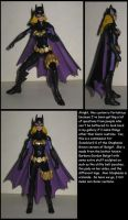 Custom Commission:  Stephanie Brown Batgirl by Wakeangel2001