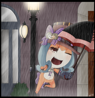 Singing in the rain by W-Lanier