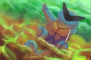 Squirtle the Boss by Phatmon66