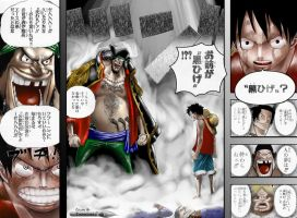 D_vs_D Color on One Piece by OneManDraw