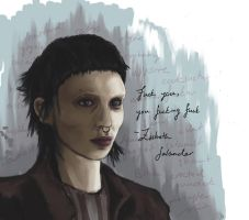 Lisbeth salander atempt by he1lfire
