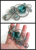 Captured sky brooch by Faeriedivine