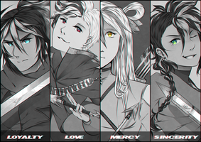 The Lawless Squad by NemiruTami