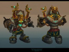 Zandalari golem by FirstKeeper