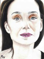 Kristin Scott Thomas by qshera