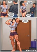 Robust Rose by muscle-fan-comics
