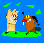 The Angry Beavers by TXToonGuy1037