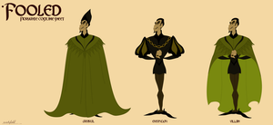 Fiorvante costume sheet by Wickfield