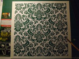 Victorian stencil complete by selfhaircuts01