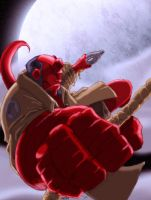 Hellboy by Spydormonkey