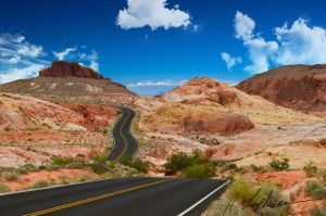 Valley of Fire Road by aloehnert