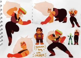 Jasper sketches by mojoromo