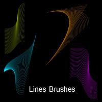 Lines Brushes by dilarosa