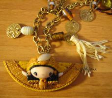 "Necklace ""Gooddess Maat"" by Bojo-Bijoux"