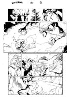 Wolverine issue 130 page 21 by PeterPalmiotti