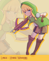 Hyrule Warriors -  Linkle by Boblester122