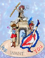 Fairytail in Paris by yryahuln