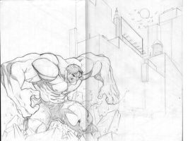 Hulk smash by bobbett