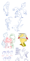 Edness Madness' shameless sketchdump by Edness-Madness