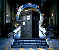 TARDIS in Cheyenne Mountain by Amrinalc